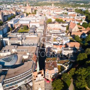 Blick durch die Kröpeliner Straße in Rostock - SEB Fotografie