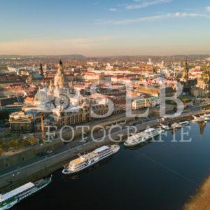 Dresden – Blick vom Königsufer Richtung Altstadt - SEB Fotografie