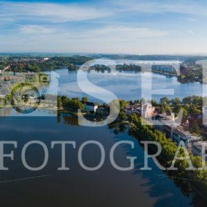 Panoramablick zum Nordufer des Pfaffenteichs in Schwerin - SEB Fotografie